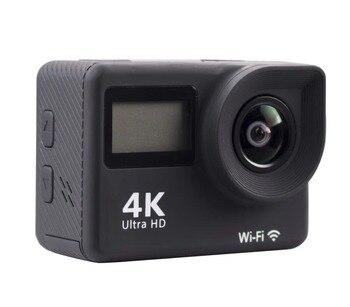 TEBERBOOM S4R Double screen Action camera 4K Ultra HD 1080P/30FPS Mini Helmet Cam Wifi 2.0 170D Waterproof Sports Camera