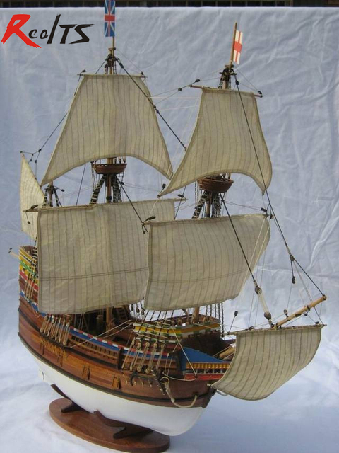 Buy Realts Classic Wooden Sailing Boat