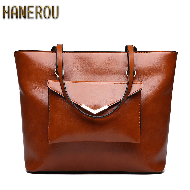 Women Brand Handbags 2018 Women Bags Designer Fashion PU Leather Women Shoulder Bag Big ladies Hand Bags Vintage Tote Bag Sac