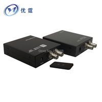 YOUTING CB1 hdmi extender coaxial 100M HDMI COAX (RG 6U BNC) EXTENDER 329FT HDMI over Coaxial transmitter and Receiver