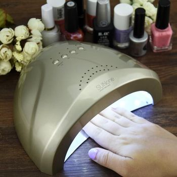 Nail Dryer LED UV Lamp Nail 24W/48W Beauty Salon Makeup Cosmetic Nail Dryer Polish Machine for Curing Nail Art Tools