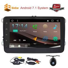 2 Din Car Stereo Android 7 1 In Dash Navigation GPS 1080P video Bluetooth AM FM