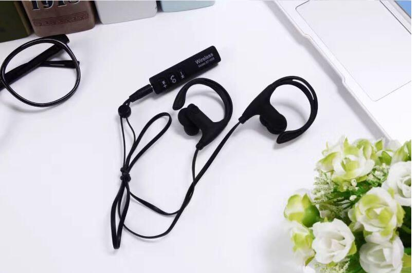 Sport Ear Hook Earphones Headphone for Iphone Xiaomi Huawei Bluetooth Phone Music Headset Wireless Bluetooth Earphone ST008 koyot sport headphones bluetooth earphones ear phone wireless stereo headset earphone music handsfree for iphone 7 ios android