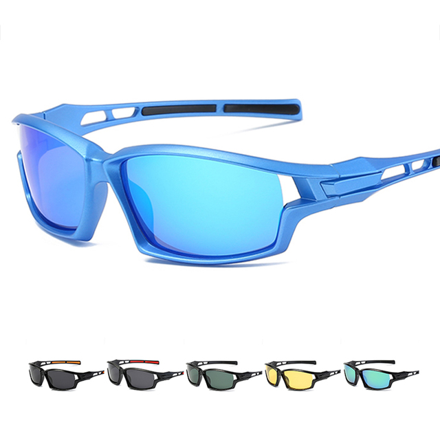 7e9bfe18ffb7 Cycling eyewear Polarized UV400 sunglasses Men Outdoor Sport UV Protection  for Mountain road Bike Bicycle Fishing Glasses S071E
