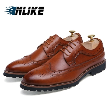Zapatos Formales De Brogue Para Hombre, Zapatos De Boda Para Hombre, Zapatos De Brogue Baratos De Moda Británica, Zapatos Planos Para Hombre, Venta Caliente