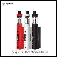 Oryginalny Kanger 75 W Toptank Subox TOPBOX Mini Ulepszony Mini zestaw Startowy Mini Atomizer Mini TC75W KBOX Mod Starter kit