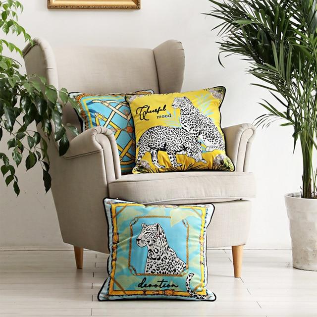 Stunning Leopard Cushion  1