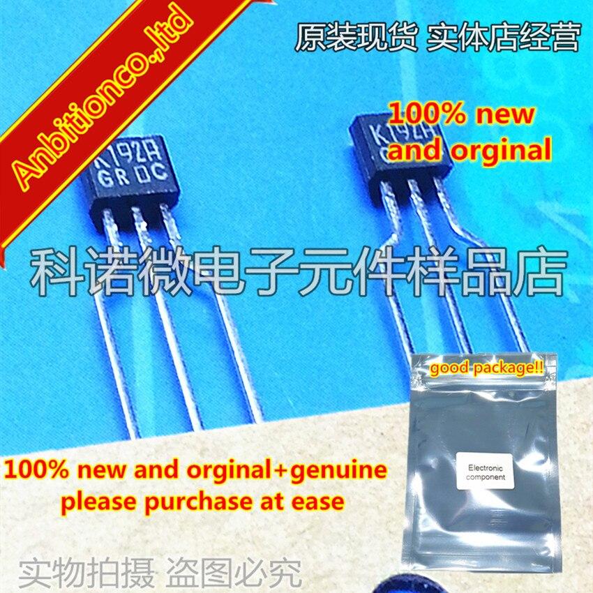 10pcs 100% New And Orginal 2SK192 K192 2SK192A-GR/Y TO-92S In Stock