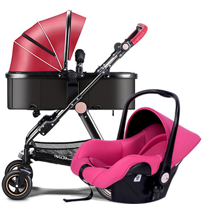 Yibaolai baby stroller 3 in 1  high landscape can be lying and set easy to folded children's trolley with the car set thermo operated water valves can be used in food processing equipments biomass boilers and hydraulic systems