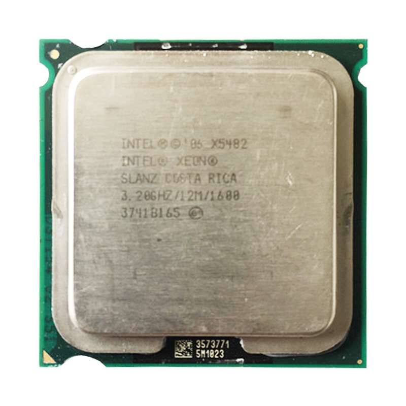 <font><b>INTEL</b></font> <font><b>X5482</b></font> CPU processor /3.2GHz/12M/1600Mhz/ Quad- Core/ server CPU close to LGA775 Core 2 Quad Q9650 CPU image