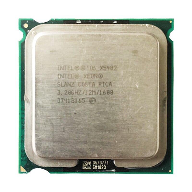INTEL X5482 CPU Processor /3.2GHz/12M/1600Mhz/ Quad- Core/ Server CPU Close To LGA775 Core 2 Quad Q9650 CPU