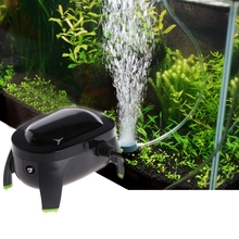 Aquarium Fish Tank Air Oxygen Pump Compressor Adjustable Silent AC 220-240V 3L/Min