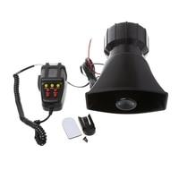 2018 Car Accessories 100W 12V Car Truck Alarm Police Fire Loud Speaker PA Siren Horn MIC