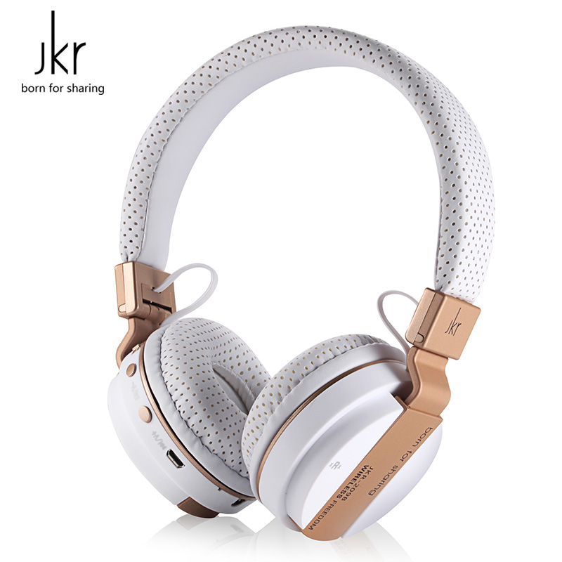 JKR Wireless headphones Bluetooth Headphone with Microphone Headband Wireless Bluetooth Headset Support Music for Mobile Phone