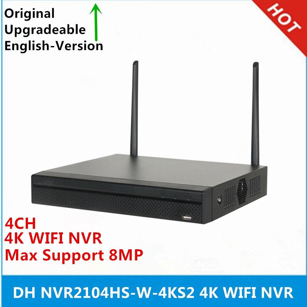 DH NVR2104HS W 4KS2 4k WIFI NVR 4 Channel Compact 1U Lite 4K H 265 Wireless