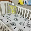 Fashion Europe bobo chose Baby Bedding sheet   print king star fish Flaky clouds tree very lovely for  boys and girls  bed