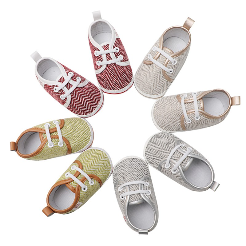 First Walker Baby Kids Casual Shoes Newborn Soft Non-slip Breathable Toddler Shoes Fashi ...