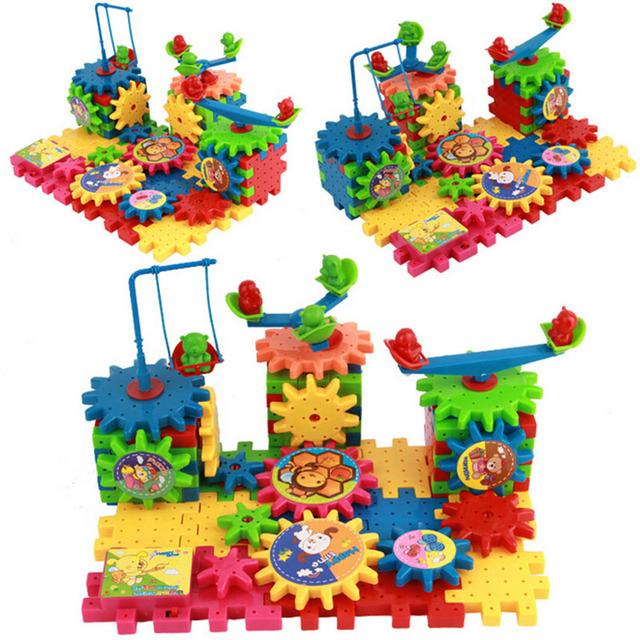 81 peças Blocos Elétricos Variedade Brinquedos Educativos Para Crianças Brinquedo Do Bebê Várias Grafias Crianças Kits Modelo de Plástico