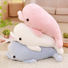 New Style Dolphin Plush Toys Stuffed Doll Soft Pillow Send to Children & Friends Gift