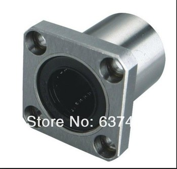 50pcs/lot LMK20UU 20mm square flanged type linear bearings