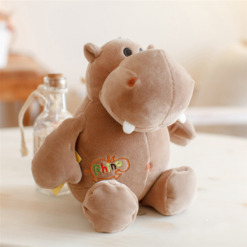 Aliexpress.com : Buy 3 Styles Soft Side Stretch Hippo Dolls Baby ...