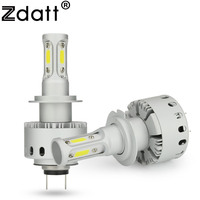 Zdatt 1Pair H7 12V Combo Led Bulb 90W 12000Lm Conversion Headlights Car Led Light Automobiles Driving