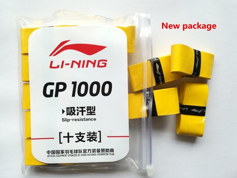 Sobregrip de bádminton pegajoso fino de Li-Ning GP1000 Mejor calidad - Raquetas de deportes - foto 2