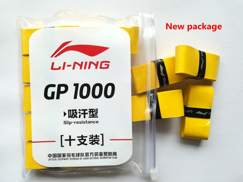 Li-Ning λεπτό κολλητικό badminton overgrip GP1000 - Αθλητικά ρακέτες - Φωτογραφία 2