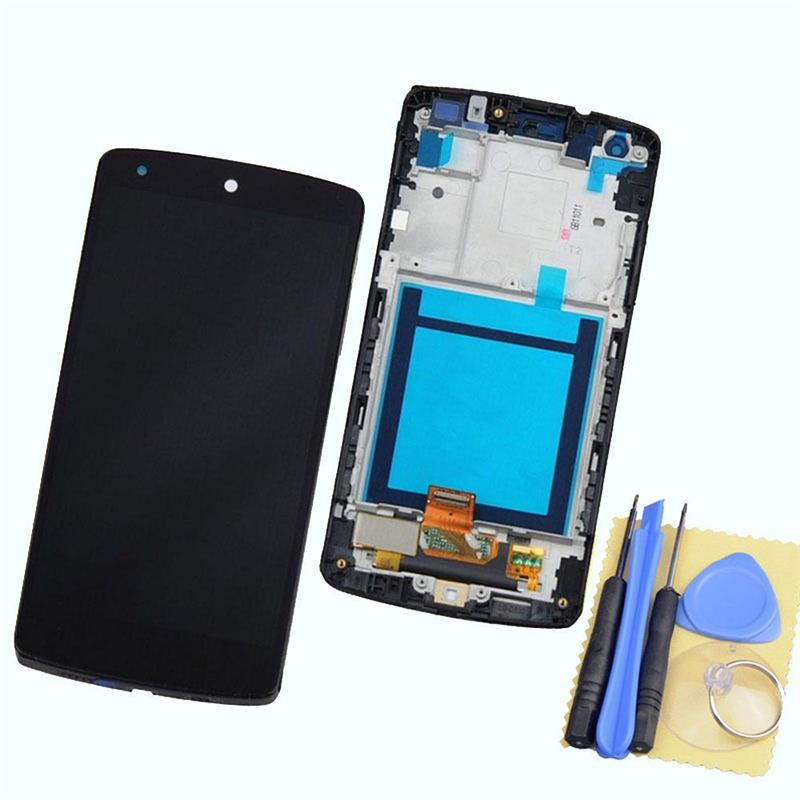 ФОТО New Black for LG Google Nexus 5 D820 D821 Touch Screen Digitizer + LCD Display Full Frame Assembly+ Tools