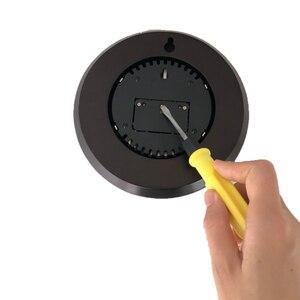 Image 5 - Бытовой Настенный термометр, гигрометр с деревянной рамой, 180 мм 132 мм 960 ~ 1060 hPa