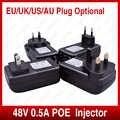 Haute Qualité Injecteur POE pour Caméra IP DE VIDÉOSURVEILLANCE US EU Power Over Ethernet POE De Commutateur Ethernet Adaptateur CCTV accessoires