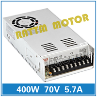 EU Delivery! 400W 70V Switch DC Power supply S 400 70 5.7A CNC Router Single Output Foaming Mill Cut Laser Engraver Plasma