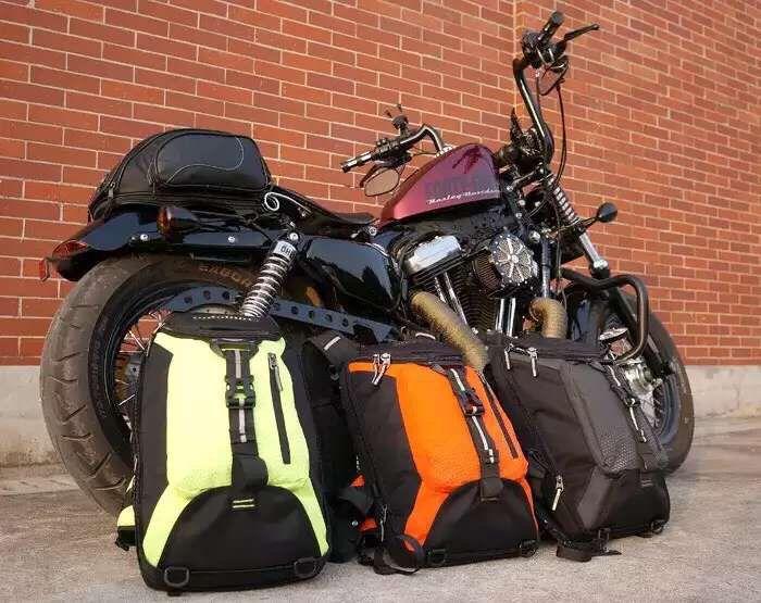 Новый uglyBROS отряда 3 рюкзак ежедневно Сумка мотоцикл сумка
