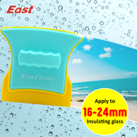 East High Quality Double Sided Window Glass Cleaner Super Strong Cleaning Brush Wiper Window Cleaner For