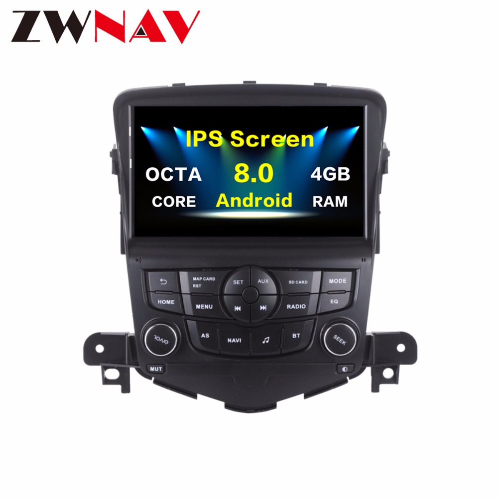 2 Din Android 8.0 Car GPS Radio For Chevrolet Cruze 2008 2009 2010 2011 2012 Car stereo Multimedia player 8 Core 4G Ram 32GB Rom