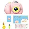 Juguete educativo para niños, cámara de fotos para niños, Mini cámara Digital de juguete con regalos de fotografía para cámara de juguete hd 8MP