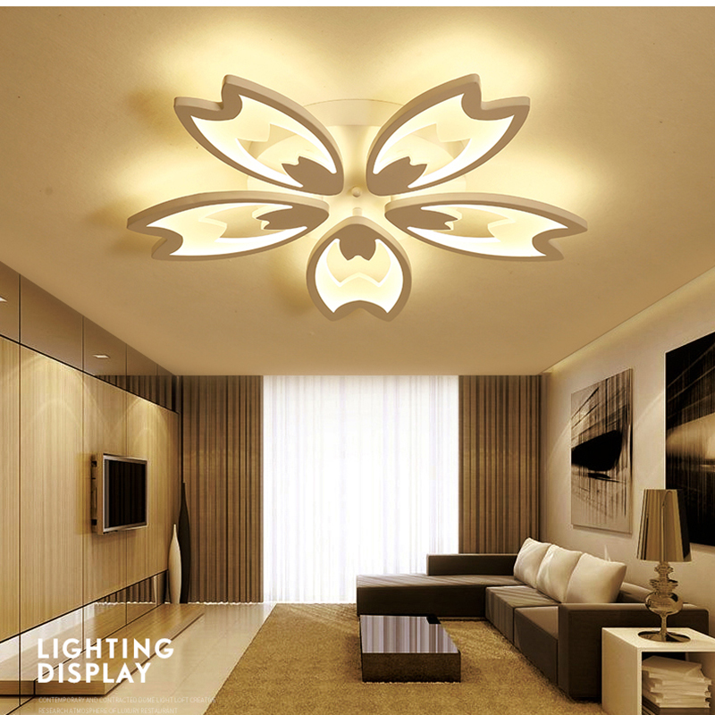 2018 modern acrylic LED Ceiling Lights for Living Room Ultrathin ceiling lamp Decorative lampshade Lamparas de techo modern led ceiling lights acrylic ultrathin living room ceiling lights bedroom decorative lampshade lamparas de techo