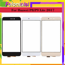 10Pcs/lot For Huawei P9 Lite 2017 PRA-LX1 Nova GR3 P8 Touch Screen Panel Sensor Digitizer Glass Replacement