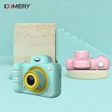 KOMERY Childrens Digital Camera Toys Video Camera For Kid Dual Cameras 1800W Pix