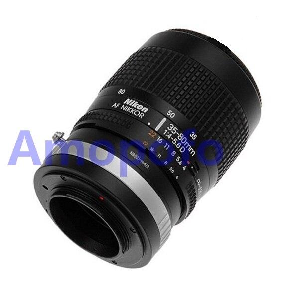 Amopofo Nikon G-M4 / 3 어댑터 용 Nik AI F AF-S G Olympus 용 MFT GH4 OM-D G6 렌즈