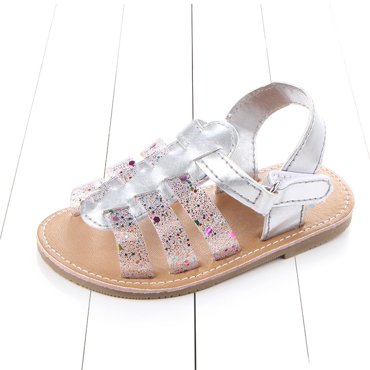 New Fashion Sweet Baby Girls Summer Sandals Princess Shoes Kids flower Soft Sole Shoes