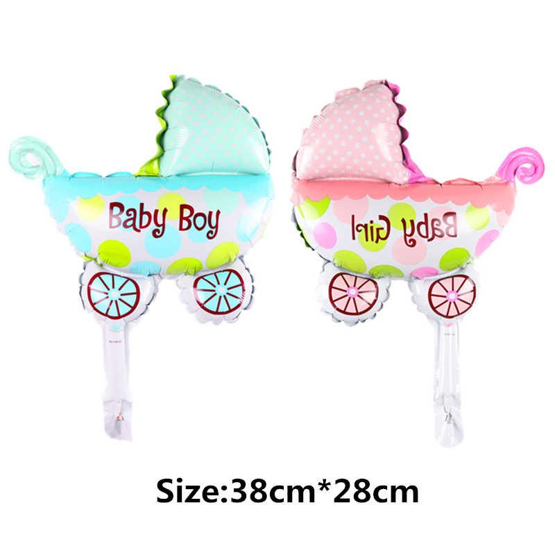 Mini Angel Bayi Anak Laki-laki Anak Perempuan Balon Dinosaurus Balon Bayi Mobil Foil Balon Mainan Bayi Pesta Dekorasi Balon