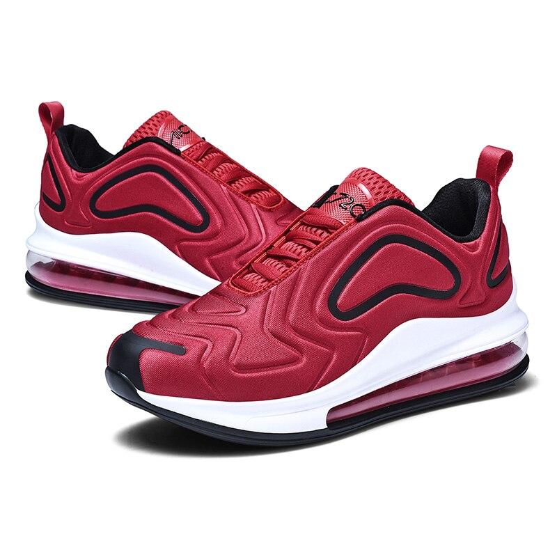 Ar Sapatos Plana Qualidade Black Trainer Homens Size Respirável Up Masculino Marca Casual Ao Lace Livre Sneaker Leve Walking Alta Flats Man De Plus red P55OWq