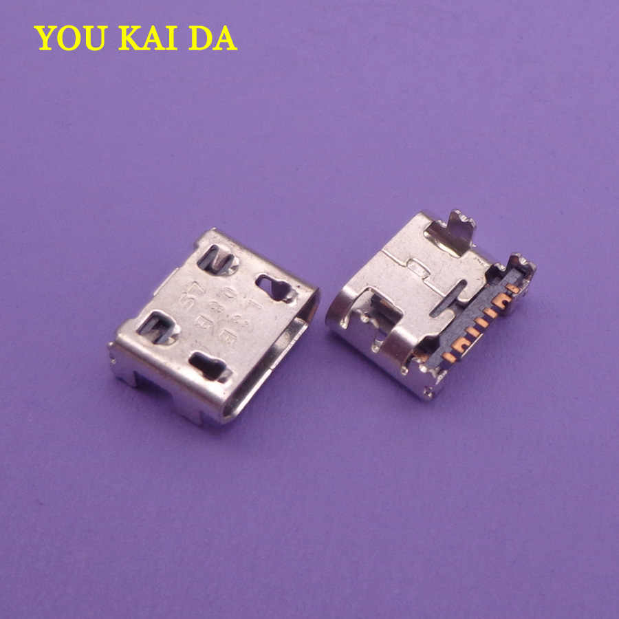 2pc Micro usb Charge Connector for Samsung C3592,E1272 Duos,E2202,I739 Galaxy Trend II,S5280,S5282,S6810 Fame,S7262,S7710 Phones