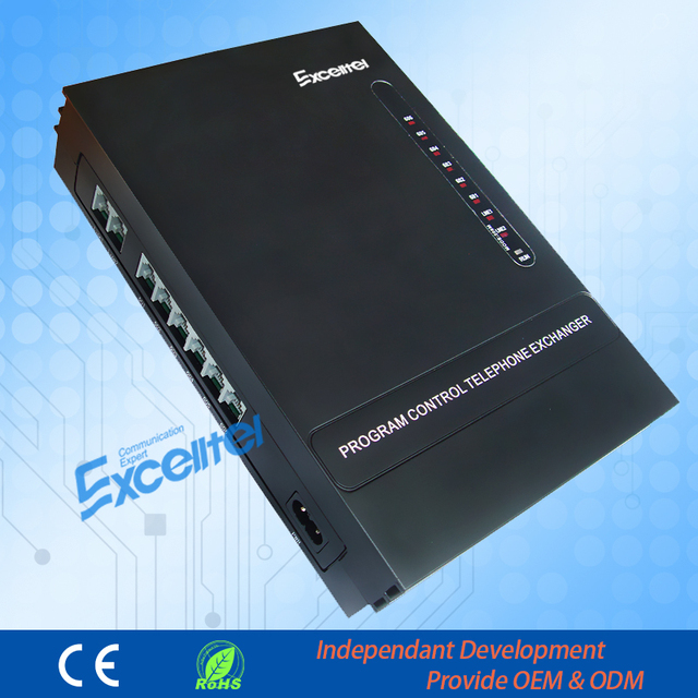 Mini PBX cheap PABX  MS206 office PBX intercom system