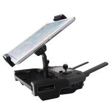 1 Juego de soporte de control de extensión a distancia soporte para tableta o teléfono soporte de aluminio para DJI Mavic 2 Zoom Platinum SPARK Drone Accesorios