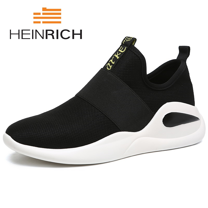 HEINRICH Men Sneakers 2019 Spring/Autumn Fashion Men Footwear Breathable Set High Quality Casual Flats Shoes Mannen SchoenenHEINRICH Men Sneakers 2019 Spring/Autumn Fashion Men Footwear Breathable Set High Quality Casual Flats Shoes Mannen Schoenen