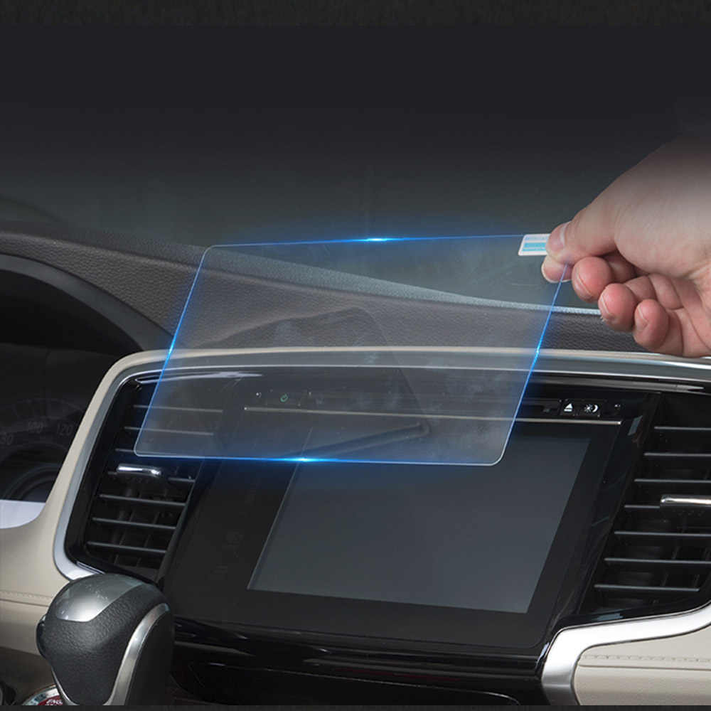 153x85 MM/152x91 MM película protectora de pantalla de vidrio templado para Podofo 2 Din reproductor Multimedia de coche Audio estéreo 2DIN Radio de coche 7 pulgadas