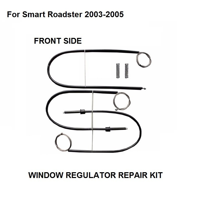 FOR SMART ROADSTER WINDOW REGULATOR REPAIR KIT FRONT RIGHT SIDE 2003 2004 2005