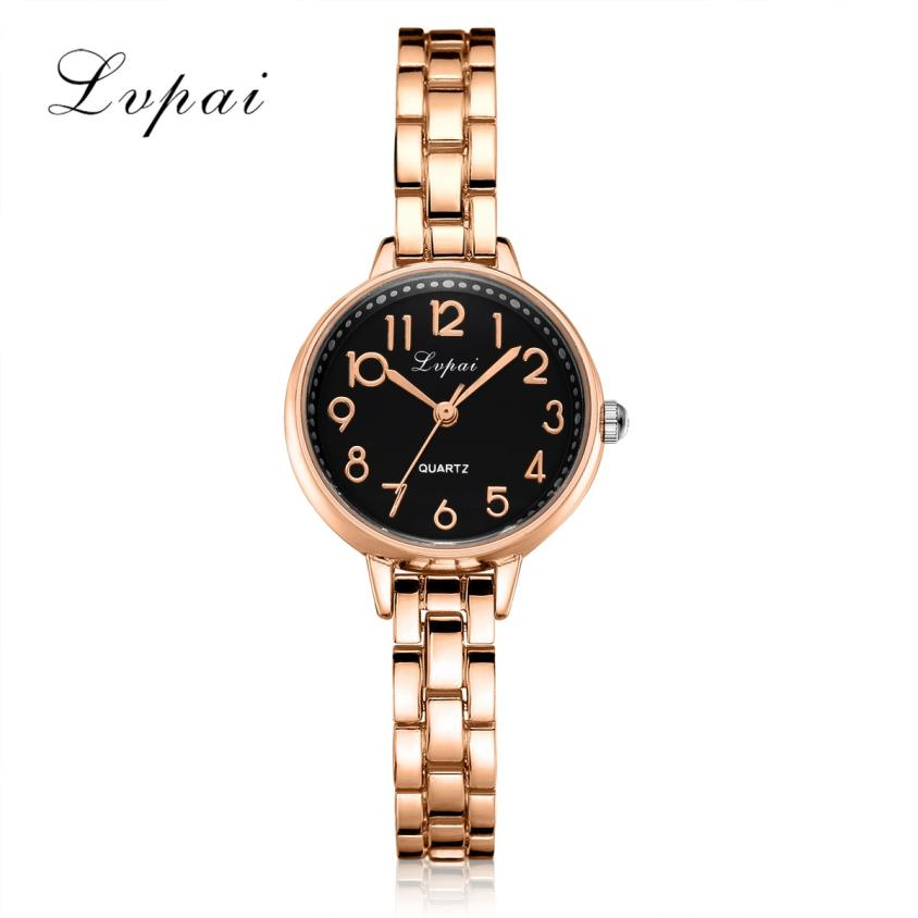 Lvpai Brand Women Bracelet Watch Fashion Stainless Steel Rhinestone Quartz Ladies WristWatch Luxury Dress relogio feminino N40 onlyou brand luxury fashion watches women men quartz watch high quality stainless steel wristwatches ladies dress watch 8892